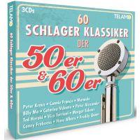 60 Schlager Klassiker Der 50er & 60er - 3CD