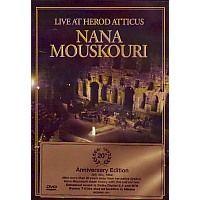 Nana Mouskouri - Live at Herod Atticus, 20 Ann.edit - DVD