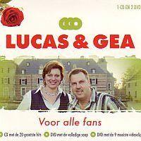 Lucas en Gea  - Voor alle fans - 1CD+2DVD
