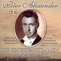 Peter Alexander - Die grossten Stimmen unserer Zeit - 3CD