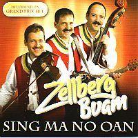 Zellberg Buam - Sing ma no oan - CD