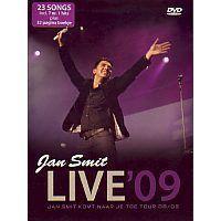 Jan Smit - LIVE 2009, Jan Smit komt naar je toe tour 08/09 - DVD