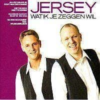 Jersey - Wat ik je zeggen wil - CD