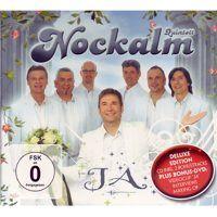 Nockalm Quintett - JA - Deluxe Edition - CD - inkl. 2 Bonustracks - plus Bonus - DVD