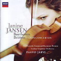 Janine Jansen - Beethoven Britten Violin Concertos - CD+DVD