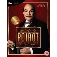 Agatha Christie - Poirot - The Definitive Collection - Seizoen 1-13 - 38DVD