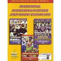Marching, Marching Parade and Show Contests - 3DVD (Marsmuziek)