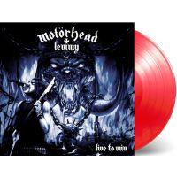 Motorhead + Lemmy - Live To Win - Coloured Red Vinyl - LP