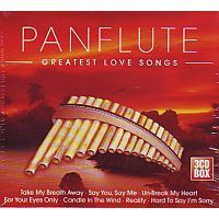Panflute - Greatest Love Songs - 3CD
