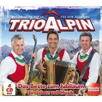 Trio Alpin - Das Beste Zum Jubilaum - Ein Leben Voll Musik - 4CD