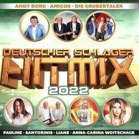 Deutscher Schlager Hitmix 2022 - CD