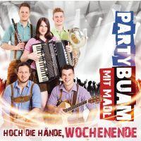 Party Buam Mit Madl - Hoch Die Hande, Wochenende - CD
