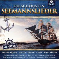 Die Schonsten Seemannslieder - 40 Titel - 2CD