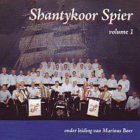 Shantykoor Spier Volume 1 onder leiding van Marinus Boer