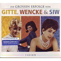 Gitte, Wencke und Siw - Die grossen Erfolge von - 3CD