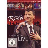 Semino Rossi - Die Liebe Bleibt Live - 2CD+2DVD