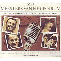 Meesters Van Het Podium - De Allermooiste Muzikale Herinneringen - 5CD