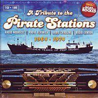 A Tribute to the Pirate Stations 1964-1974 Radio-Noordzee-Veronica-Caroline-London 7CD+DVD