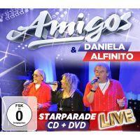 Amigos & Daniela Alfinito - Starparade Live - CD+DVD
