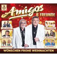 Amigos & Freunde - Wunschen Frohe Weihnachten - 3CD