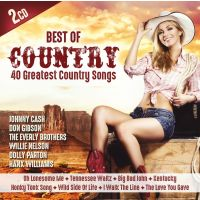 Best Of Country - 40 Greatest Country Songs - Folge 1- 2CD