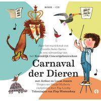 Het Carnaval Der Dieren - BOEK+CD