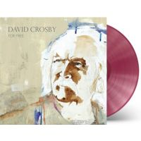 David Crosby - For Free - Fruit Punch Coloured Vinyl - LP