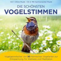 Die Schönsten Vogelstimmen - Folge 1 - 2CD