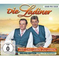 Die Ladiner - Zeit Das Leben Zu Leben - Deluxe Edition - CD+DVD