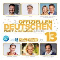 Die Offiziellen Deutschen Party & Schlager Charts Vol. 13 - CD