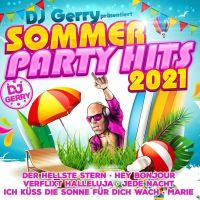 DJ Gerry - Sommer Party Hits 2021 - CD