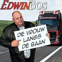 Edwin Bos - De Vrouw Langs De Baan - CD Single