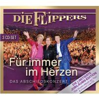 Die Flippers - Fur Immer Im Herzen - Das Abschiedskonzert - 3CD