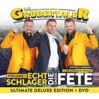 Die Grubertaler - Echt Schlager - Die Grosse Fete - Vol. 1 - Deluxe Edition - CD+DVD