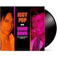 Iggy Pop & David Bowie –  Best of Live at Mantra Studios Broadcast 1977 - LP
