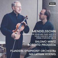 Shlomo Mintz - Mendelssohn: Violin Concertos - CD