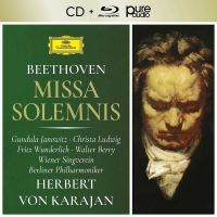 Herbert von Karajan - Beethoven: Missa Solemnis, Op. 123 - CD+Audio Bluray