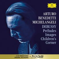 Arturo Benedetti Michelangeli - Debussy: Préludes I & II, Images I & II, Children' - 2CD+ AUDIO Bluray