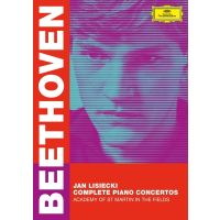 Jan Lisiecki - Beethoven: Complete Piano Concertos - DVD