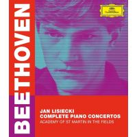 Jan Lisiecki - Beethoven: Complete Piano Concertos - BLURAY