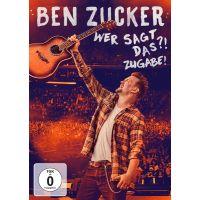 Ben Zucker - Wer Sagt Das?! Zugabe! - DVD