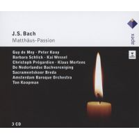 J.S. Bach - Matthaus-Passion - 3CD