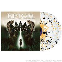 Epica - Omega Live - White Yellow Black Splattered Vinyl - 3LP