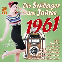 Die Schlager Des Jahres 1961 - 2CD