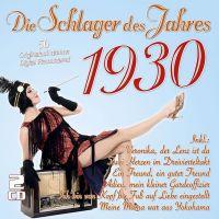 Die Schlager Des Jahres 1930 - 2CD