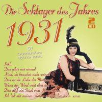 Die Schlager Des Jahres 1931 - 2CD