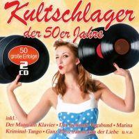Kultschlager Der 50er Jahre - 2CD