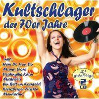 Kultschlager Der 70er Jahre - 2CD