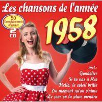 Les Chansons De L'Annee 1958 - 2CD