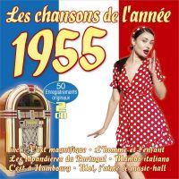 Les Chansons De L'annee 1955 - 2CD